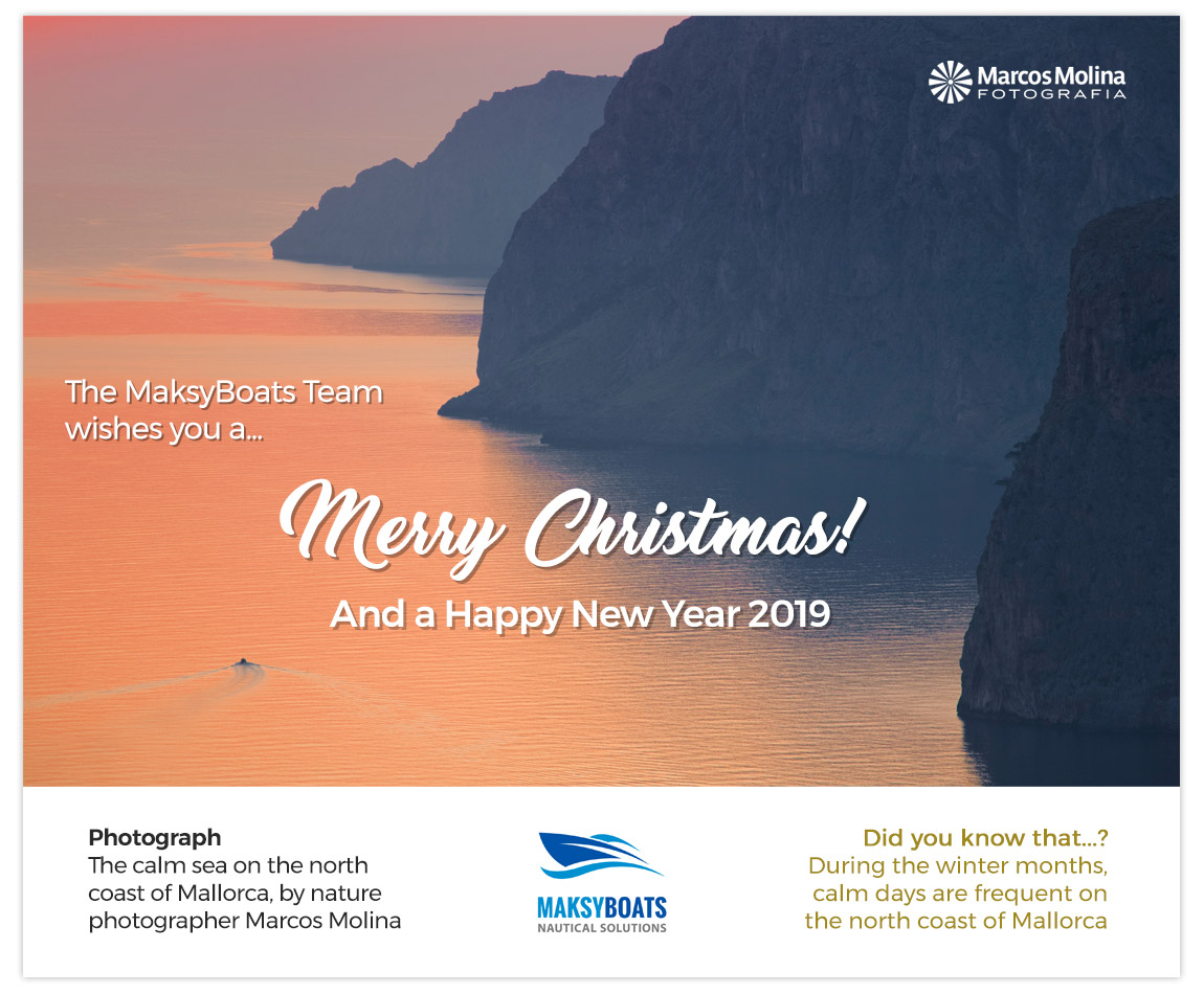 Merry Christmas 2018-19 from the MaksyBoats Team