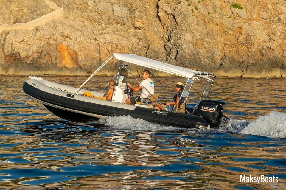 Boat Hire with License Port de Sóller, Tarpon 590 LX