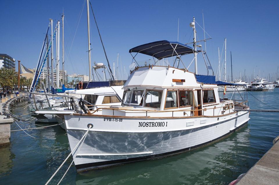 Nostromo boat charter in Palma de Mallorca