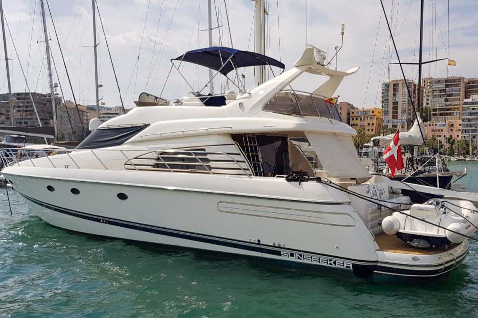 Sunseeker Manhattan 62 for sale in Mallorca