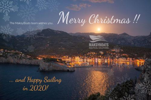 Merry Christmas by MaksyBoats Mallorca