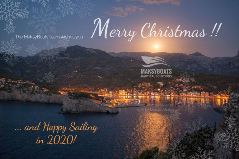 Feliz Navidad por MaksyBoats Mallorca