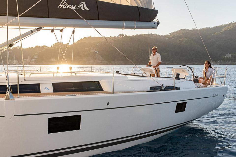 Hanse Luxury Sail Yatch Port Soller Mallorca