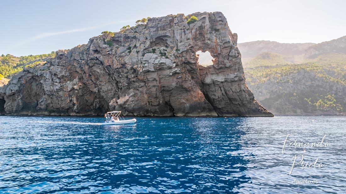 Paseo en barco por Sa Foradada, Mallorca